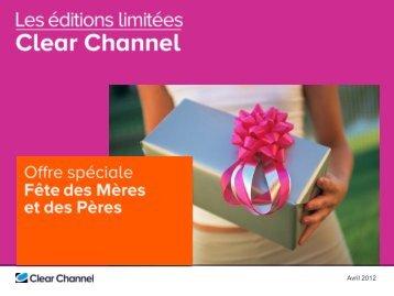 Télécharger la présentation - Clear Channel