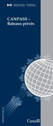 CANPASS – Bateaux privés - Agence des services frontaliers du ...