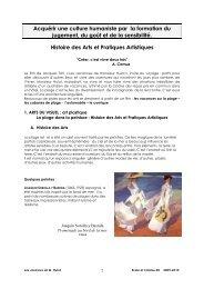 Exploitation en arts visuels - CRDP
