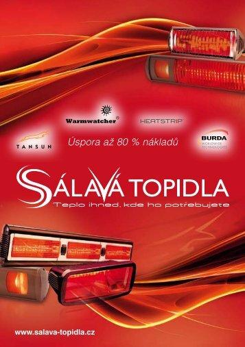 katalog sálavá topidla - Bionaire