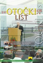 Otočki list br. 48 (rujan 2011.) - Grad Otok