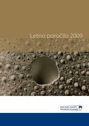 Letno poročilo 2009 - Računsko sodišče
