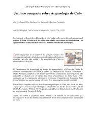 Un disco compacto sobre Arqueología de Cuba - Cuba Arqueológica