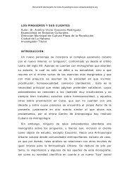 Los pingueros y sus clientes - Cuba Arqueológica
