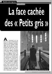 la face cachée des petits gris - Pastorale Nouvelles Croyances et ...