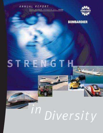 Bombardier's 1999 Annual Report