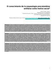 El conocimiento de la arqueología precolombina antillana - Cuba ...