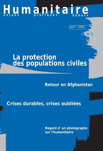 Revue Humanitaire n°2 - avril 2001 - Médecins du Monde