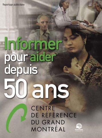 Cahier encarté dans la Presse Mai 2007 - Centre de référence du ...