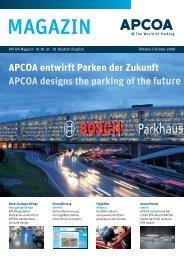 APCOA entwirft Parken der Zukunft - Apcoa Autoparking Gmbh