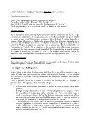 Lecture analytique de l'éloge de l'hypocrisie, Dom Juan, acte V ...