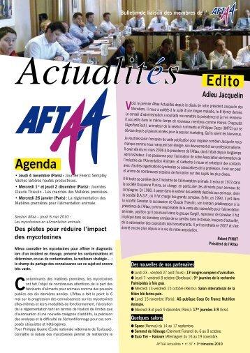 Bulletin d'actualités deuxième trimestre 2010 N°37 - Association ...