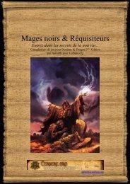 Mages noirs & Réquisiteurs - Cerbere.org