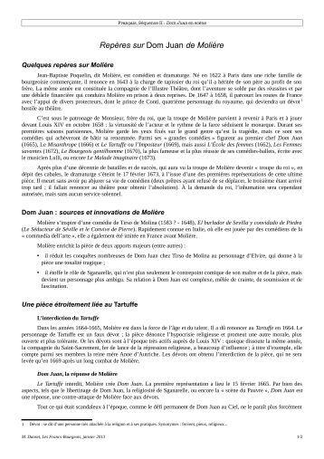 Don Juan- Moliere pdf