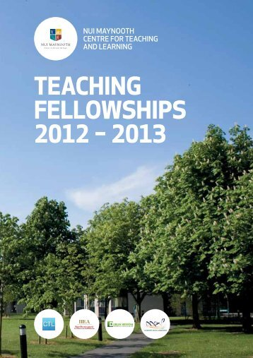 teaching fellowships 2012 – 2013 - Centre for Teaching & Learning