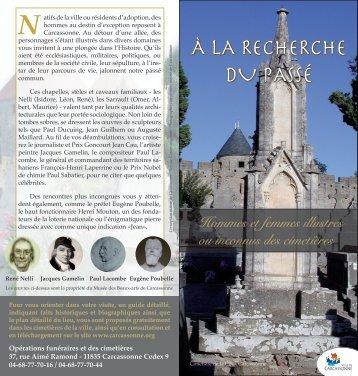 À LA RECHERCHE DU PASSÉ - Festival de Carcassonne