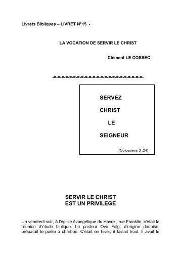LIVRET N°15 - Clément Le Cossec