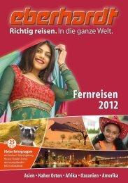 EBERHARDT Fernreisen 2012