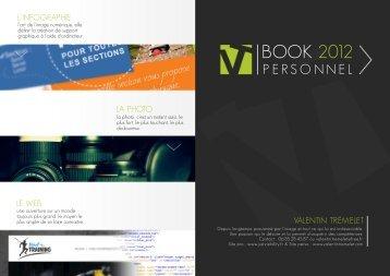 BOOK 2012 - Valentin Tremelet