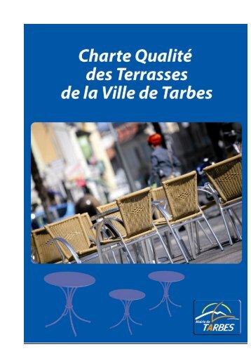 La charte des terrasses - Tarbes
