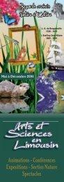 voir le programme d'Arts et Sciences en Limousin 2011