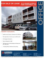 for sale or lease 8219 fraser avenue fort mcmurray, ab