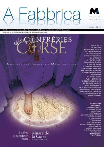 bulletin trimestriel en pdf - Musée de la Corse