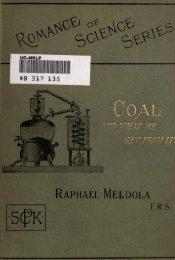 RAPHAEL MELDOLA - Old Forge Coal Mines