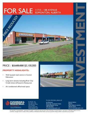 11715A - 108 Avenue brochure.indd