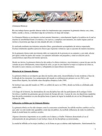 Gimnasia Rítmica - Mundodescargas.com