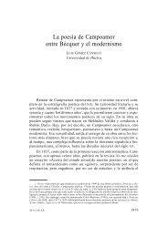 110. La poesía de Campoamor entre Bécquer y el modernismo, por ...