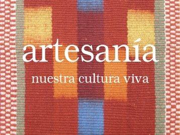 nuestra cultura viva - Sistema de Registro Nacional de Artesanía