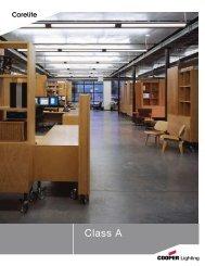 Corelite Class A Family Brochure - Cooper Industries