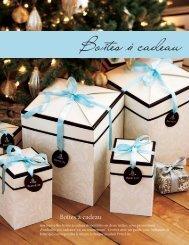 Boîtes à cadeau - PartyLite
