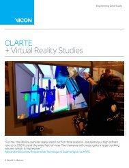 CLARTE + Virtual Reality Studies - Vicon