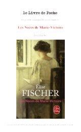 Les Noces de Marie-Victoire - Le Livre de Poche