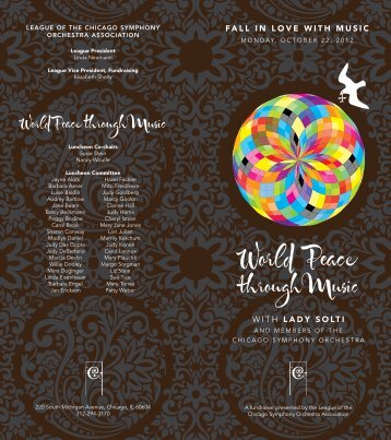 Download invitation (PDF) - Chicago Symphony Orchestra