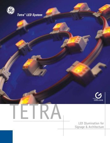 LED Illumination for Signage & Architecture Tetra™ LED ... - RELKO