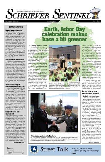 Earth, Arbor Day celebration makes base a bit - Colorado Springs ...
