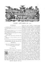 PALMA.—DICIEMBRE DE i8$i ITINERARIO DE EOS TALAYOTS ...