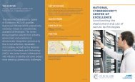 NCCoE Brochure - Computer Security Resource Center - National ...