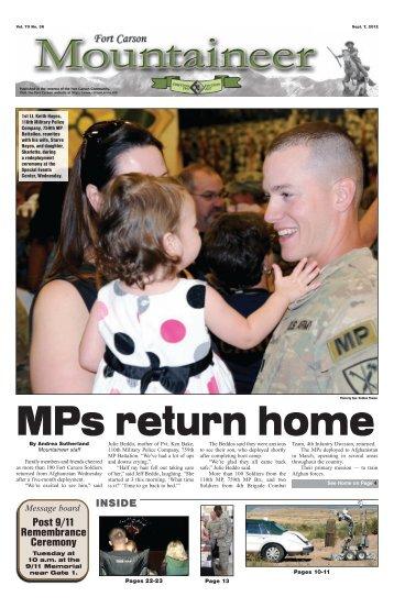 September 7, 2012 - Colorado Springs Military Newspaper Group