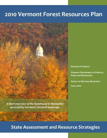 2010 Vermont Forest Resources Plan - Vermont Department of ...