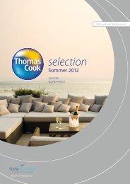 THOMASCOOK SelectionEuropaNordafrika So12