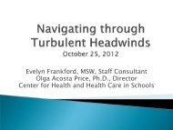 Navigating through Turbulent Headwinds - Center for School Mental ...