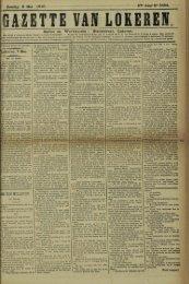 Zondag 8 Mei 1910. 67» Jaar N« 3434. Bureel en Werkhuizen ...