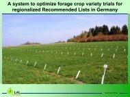 A system to optimize forage crop variety trials for regionalized ...