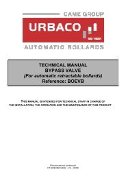 How to mount the Bypass Valve - Urbaco Automatic Retractable ...