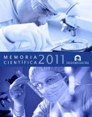 Memoria Científica INCLIVA 2011 - Instituto de Investigación ...