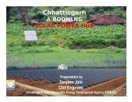 Chhattisgarh a Booming Solar Power Hub